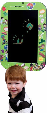 MyPlate Magic Wall Toy