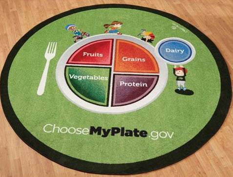 MyPlate Waiting Area Carpet