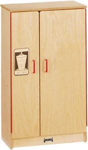 Natural Birch Refrigerator - Free Shipping