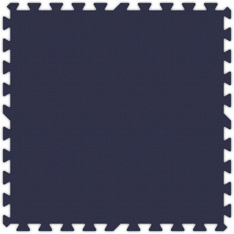 Navy Blue Foam Interlocking Tiles