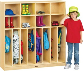 Jonti-Craft Neat & Trim Wood Classroom Lockers