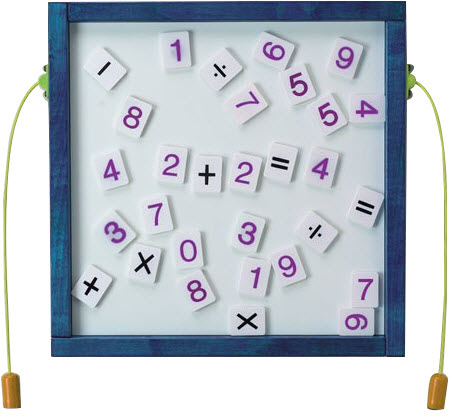 Number Fun Wall Activity Toy