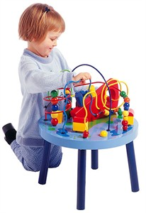 Oceans Adventure Knee High Bead Table - Out of Stock