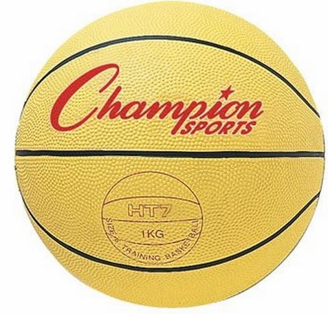 Champion Sports Official Size Weighted Basketball - Free Shipping