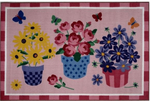 Blossoms & Butterflies Area Rug - Free Shipping