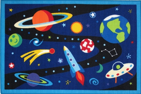 "Out of This World Area Rug  39"" x 58"""