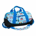 Olive Kids Trains, Planes & Trucks Duffel Bag