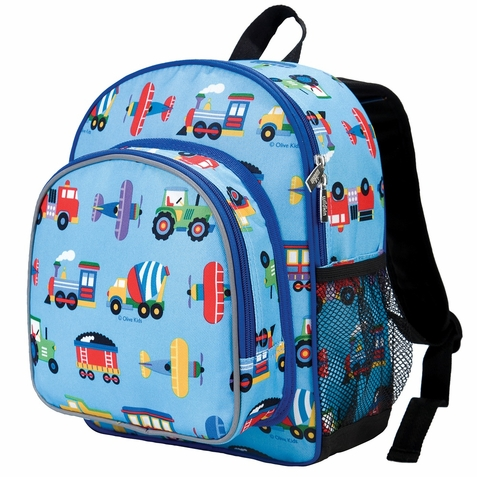 Trains, Planes & Trucks Pack 'n Snack Backpack - Free Shipping