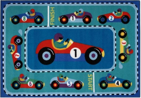 Olive Kids Vroom Area Rug