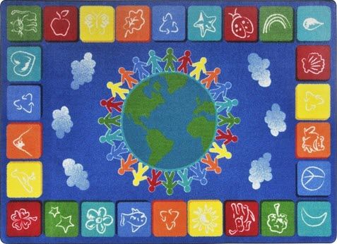 One World Educational Area Rug