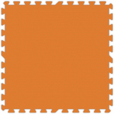 Orange Foam Premium Interlocking Floor Tiles
