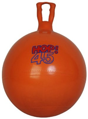 Gymnic Orange Hop 45 Hopping Ball by Gymnic