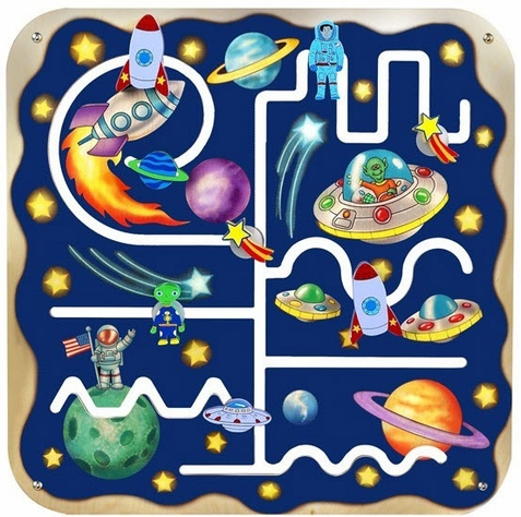 Anatex Outer Space Pathfinder Play Panel Toy