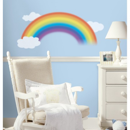 Over the Rainbow Peel & Stick Giant Wall Decal - Free Shipping
