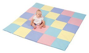 Patchwork Pastel Mat by