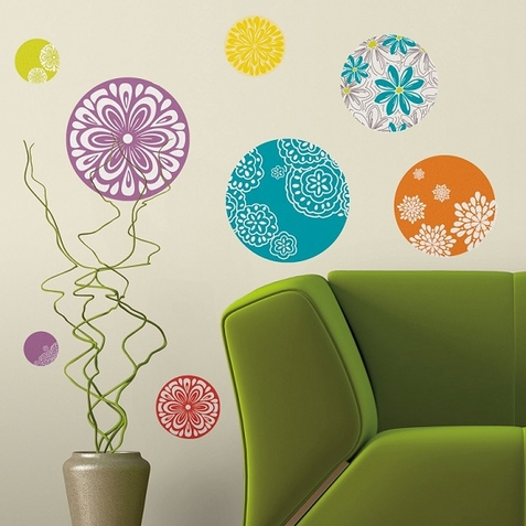 Patterned Dots Peel & Stick Wall Decals - Free Shipping