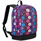 Peace Signs Purple Sidekick Backpack - Free Shipping
