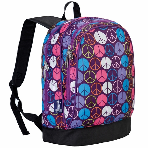 Peace Signs Purple Sidekick Backpack
