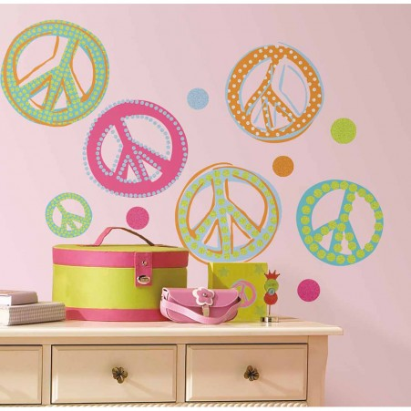 Peace Signs Wall Stickers