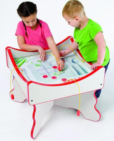 Peas & Carrots Play Table