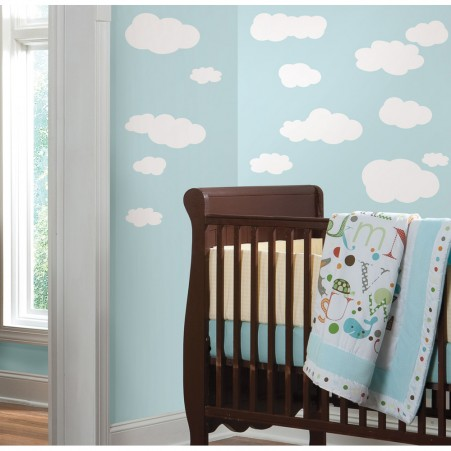 RoomMates Peel & Stick Clouds Wall Decals