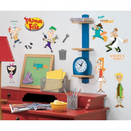 Phineas & Ferb Peel & Stick Wall Decals