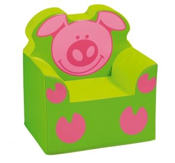 WESCO Piggy Theme Foam Armchair for Kids