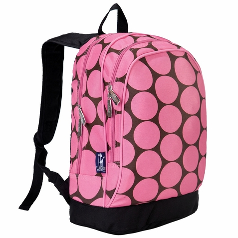 Pink Dots Backpack - Free Shipping