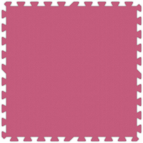 Pink Foam Interlocking Floor Tiles