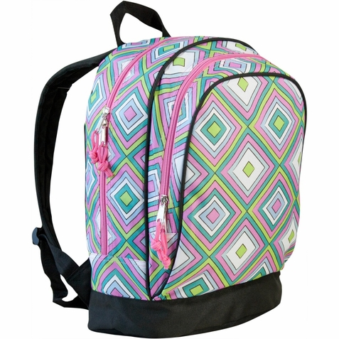 Pink Retro Sidekick Girls Backpack