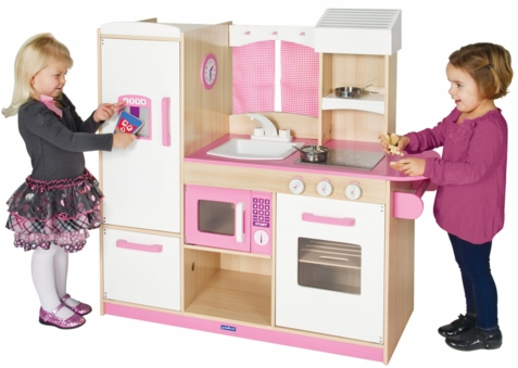 Play-Along Pink Kitchen - Free Shipping