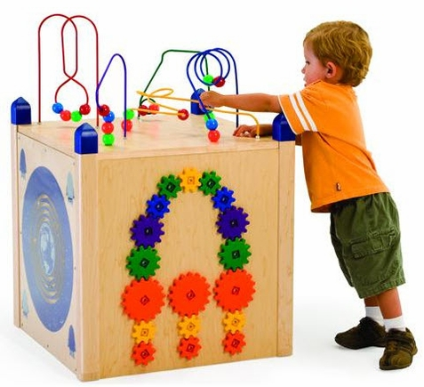 Play Panel Box Activity Cube