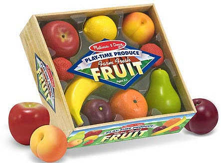 Play-Time Produce Fruit Set