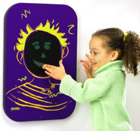 Playsa Face Boy Wall Activity Toy