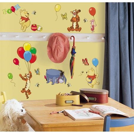 Pooh & Friends Peel & Stick Wall Decal