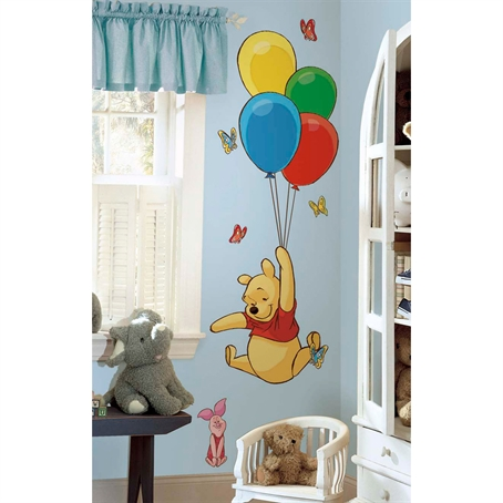 Pooh & Piglet Peel & Stick Giant Wall Decal