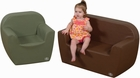 Pre-School 2 Piece Club Woodland Soft Furniture Set