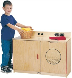 Jonti-Craft Preschool Combo Laundry Center