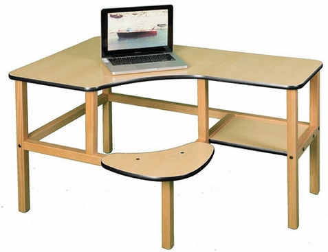 WIld Zoo Preschool Computer Desk