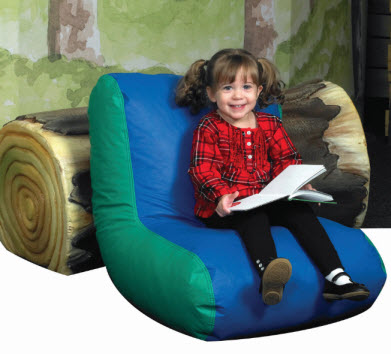 Preschool High Back Lounger Chair