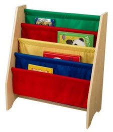 KidKraft Primary Colors Sling Bookshelf