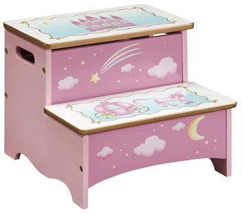 Princess Storage Step-Up