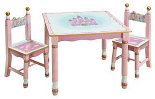 Princess Table and Chair Set - Out of Stock