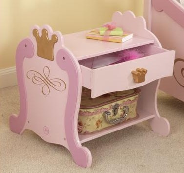 KidKraft Princess Toddler Night Stand