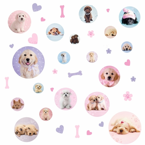 Puppy Spots Peel & Stick Wall Decals