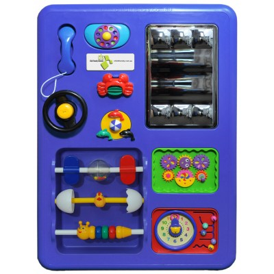 Purple Plastic Play Panel Toy