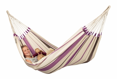 La Siesta Purple Single Hammock Caribe�a