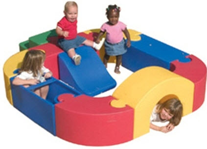 Indoor/Outdoor Puzzle Play Yard