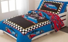 Racecar Toddler Bedding Set