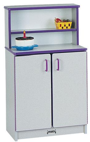 Jonti-Craft Rainbow Accents Play Kitchen Cupboard
